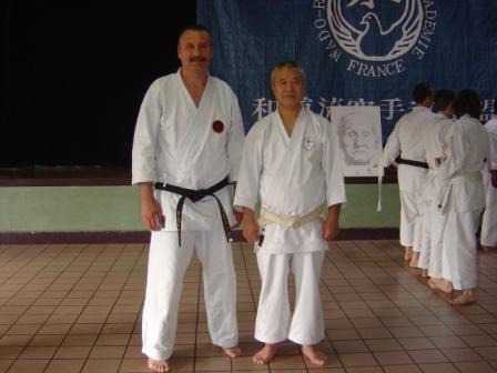 Stage avec SenseÏ SHIOMITSU 2005
